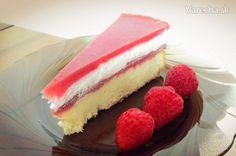 Jahodová želé torta (fotorecept)