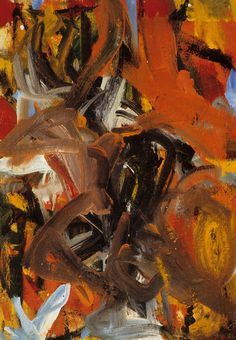 De Kooning Death of Jonny Acropolis, 1956 (by -The Collection-)