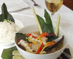 Po Tak - spicy seafood soup - homely, warming Thai cooking for an icy Winter @sri_thong