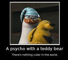Penguins Of Madagascar, Teddy Bear, Humor, Movies, Humour, Teddy Bears, Funny Photos, Funny Humor, Comedy