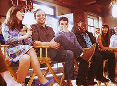 Jess, Nick, Schmidt, Winston & Cece c: