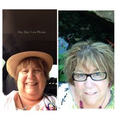 My results so far.  Let Plexus assist with your weight loss or Health goals. Lowers Blood Sugars and Blood Pressure . 60 day money back guarantee.  Email me for more info. pattylovesplexus@gmail.com