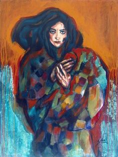 "Saatchi Art Artist Suhair Sibai; Painting, ""I Will Remember  -SOLD"" #art"