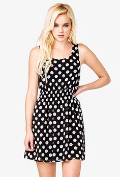 top rated dress Forever 21. polka dots still  in