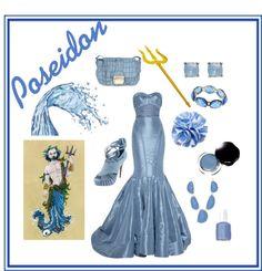 """Poseidon - Greek Mythology"" by arsphidius on Polyvore"