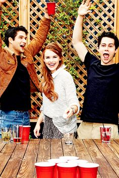 Teen Wolf: Tyler Posey, Holland Roden and Dylan O'Brien for Entertainment Weekly Teen Wolf Stydia, Teen Wolf Dylan, Teen Wolf Stiles, Teen Wolf Cast, Tyler Posey, Lydia Martin, Teen Tv, Scott Mccall, Star Wars