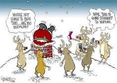 O cão que comeu o livro...: O Pai Natal vítima de bullying nas redes sociais / Santa bullied in YouTube