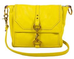 Canary Yellow Lucy Bag