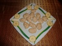 Banánové pusinky