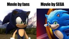 When I saw the trailer, I was like what in the actual fuck. I was excited about the movie but after watching the trailer I'm like nope. Funny Gaming Memes, Funny Games, Video Game News, Video Games, Sonic Heroes, Sega Dreamcast, Retro Gamer, Game R, Sega Genesis