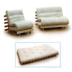 Single Chair/Bed Futon