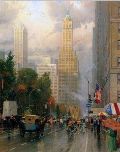Thomas Kinkade 1958 | Sacramento, California | Tutt'Art@