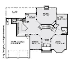 This contemporary design floor plan is 4134 sq ft and has 4 bedrooms and has 4.5 bathrooms. Contemporary Style Homes, Contemporary Design, Monster House Plans, Baths, Floor Plans, Flooring, How To Plan, Architecture, Bedroom