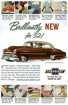 1952 Chevy Bel Air  DriveBaby.com