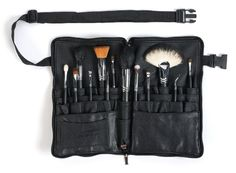 Sedona Lace Vortex Professional Makeup Brushes with Zipper Belt >>> See this great product.