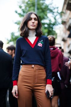 The Sartorialist / On the Street…At the Shows, Milan // #Fashion, #FashionBlog, #FashionBlogger, #Ootd, #OutfitOfTheDay, #StreetStyle, #Style