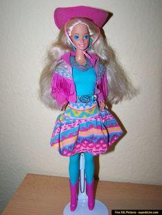 Western Fun Barbie. had her