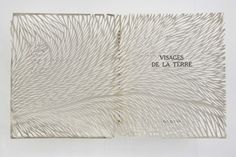 Geogia Russell  Visage de la Terre, 2011  Cut book jacket in acrylic case  (20.5 x 23.25 x 4.75 inches)