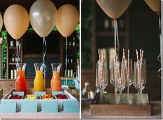 Momosa Bar - mimosas for baby showers