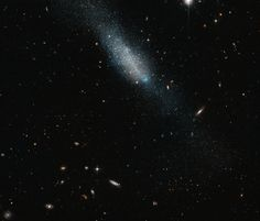 Hubble Sees Cosmic Sprinkling of Blue and Gold   NASA