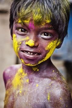 Holi Boy - India