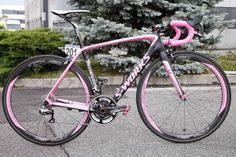 Alberto Contador's pink Specialized S-Works Tarmac - Tinkoff Saxo