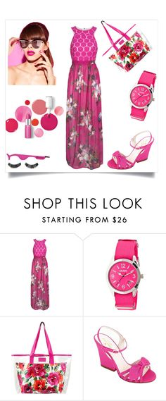 """""""Untitled #3548"""" by im-karla-with-a-k ❤ liked on Polyvore featuring WithChic, Crayo, Clinique, Jacki Design and Kate Spade"""