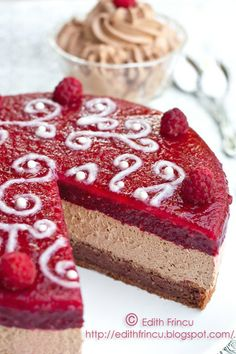 ganache cake with raspberry jelly 2 Chocolate Ganache Cake, Cake Recipes, Dessert Recipes, Torte Recipe, Raspberry Recipes, Cake Bars, Dessert Drinks, Food Cakes, How Sweet Eats