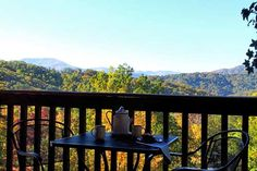 Forever in Gatlinburg, Tennessee: Master Bedroom Deck