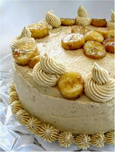 Impress Birthday Guests with This Vegan Bananas Foster Cake Recipe