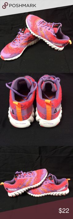 Girls Twist form Reebok Shoes Euc Sz4 Girls Twist form Reebok Shoes Euc Sz4 Reebok Shoes Sneakers