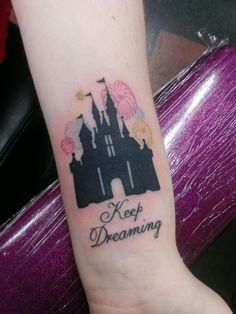 simple castle tattoo - Google Search