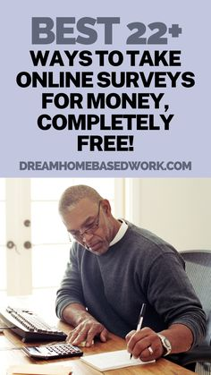 Looking for real online survey companies that actually pay real cash? Love taking online surveys for money from your computer? Then check out some of these 22+ companies! They are almost always looking for panelists to take online surveys from home. #workathome #surveys #makemoneyonline Make Money Taking Surveys, Surveys That Pay Cash, Survey Sites That Pay, Get Money Online, Online Surveys For Money, Legit Paid Surveys, Home Based Work, Survey Companies, Legitimate Work From Home