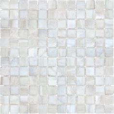 12-in x 12-in White Linen Tones Glass Wall Tile ($1/sq ft from Lowes) [sad...sold out everywhere :( ]