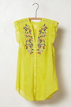 the perfect blouse! #newwant #want #itsawant http://itsawant.com/anthropologie-threadbloom-blouse/