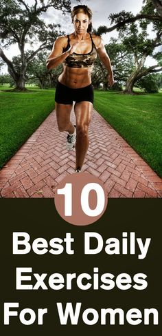 Best Top 10 Daily Exercises For Women - Health Tricks