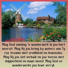 Goeie More, Psalm 23, Uplifting Quotes, Faith In God, Good Morning, Bring It On, Bible, Van, Mansions
