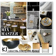 """""""CONTEST ENTRY: Mix Master With Kelly Wearstler"""" by ambervogue on Polyvore"""
