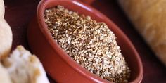 Dukkah - Julie Goodwin recipe - perfect with good bread and olive oil, it's also great as a coating for chicken, lamb or fish.