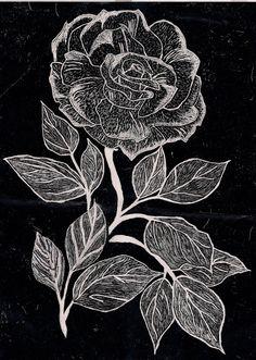 best Rose again scan copy Chalk Art Quotes, Peace Drawing, Cool Pictures For Wallpaper, Black Paper Drawing, Scratchboard Art, Sidewalk Chalk Art, Cool Wall Art, Scratch Art, Handprint Art