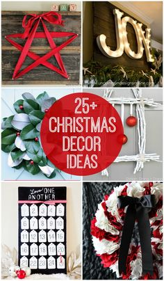 25+ Christmas Decor Ideas