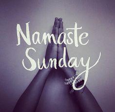 Namaste Sunday