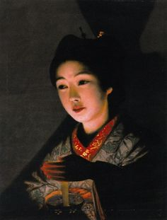 File:Tomoshibi o motsu otome by Yamamoto Hōsui.jpg