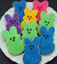 Peeps Sugar Cookies...too stinking cute!!