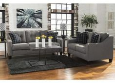Living Room Furniture Jennifer Convertibles microfiber sofa and loveseat. biancajennifer furniture | home
