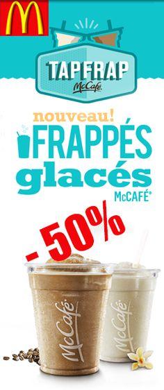 50 % de rabais pour les frappés glacés,  http://rienquedugratuit.ca/coupons/50-de-rabais-frappes-glaces/