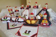 KIt de cozinha galinha d'angola