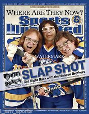 The Hanson Brothers Signed Charleston Chiefs Slap Shot Sports Illustrated Cover Photo (AJ Sports Auth) Hanson Brothers, Brothers Movie, Stars Hockey, Ice Hockey, Picabo Street, Dock Ellis, Si Magazine, Magazine Covers, Larry Holmes