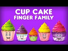 Cup Cake Finger Family Song | Daddy Finger Song | Finger Family Collection