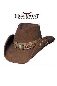 262ad3dfd5929 Bullhide Sheila Cowgirl Hat Felt Cowboy Hats
